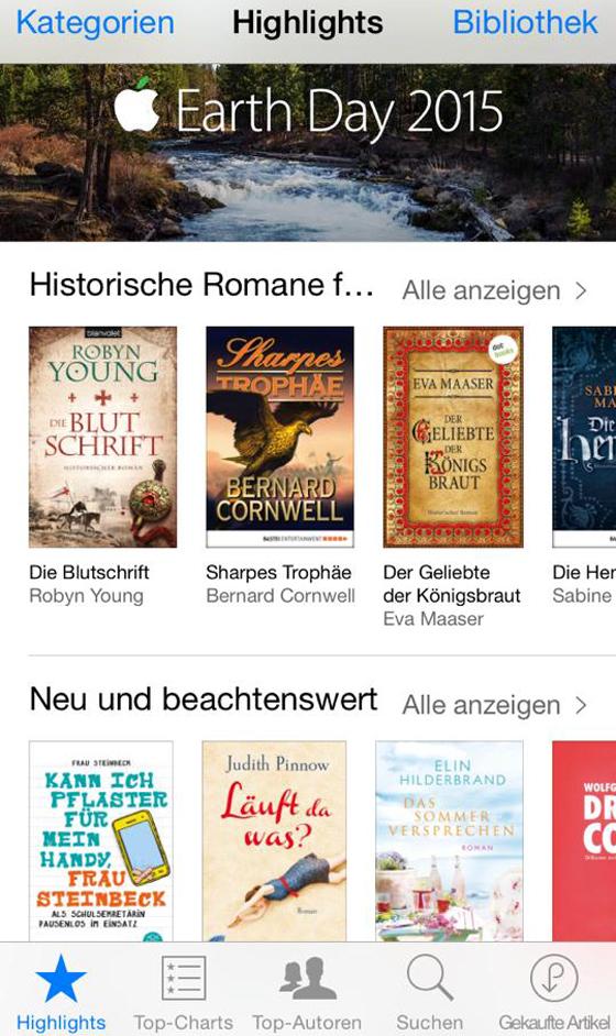Kann ich Pflaster fuer mein Handy Frau Steinbeck iBooks