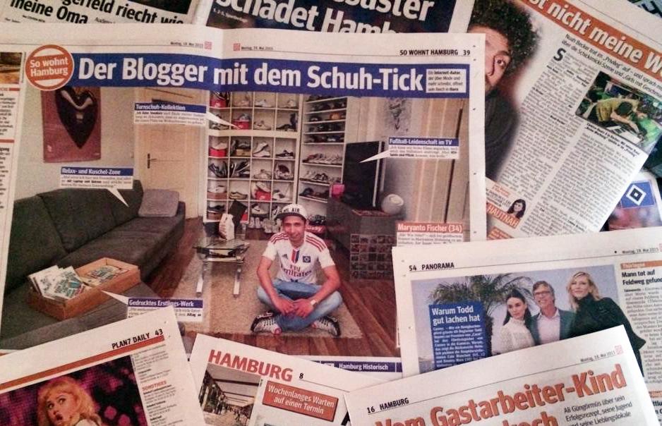 """""""So wohnt Hamburg"""" in der Hamburger Morgenpost / Montag, 18. Mai, 2015"""