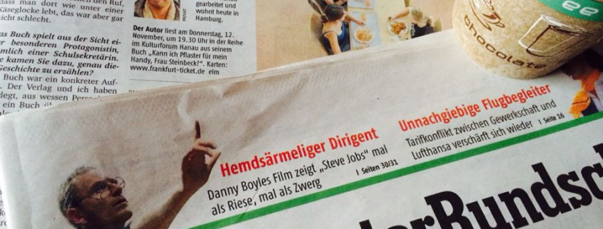 Maryanto Fischer Frankfurter Rundschau Kann ich Pflaster für mein Handy Frau Steinbeck